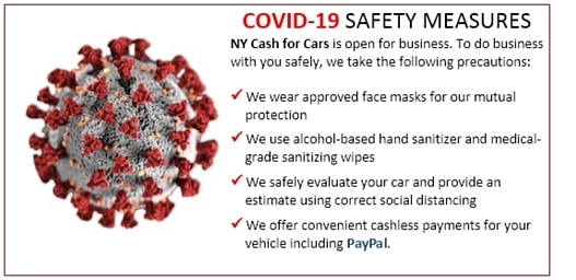 NY Cash for Cars COVID-19 Safety